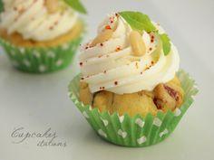 Cupcakes salés italiens (tomates séchées, basilic, parmesan & pignons de pin)