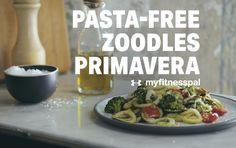 Misty Copeland's Pasta-Free Zoodles Primavera
