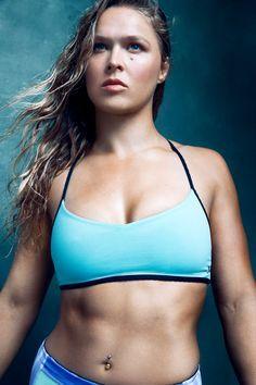 Ronda Rousey - The Hollywood Reporter Sports Issue 2014 Ronda Rousey Wwe, Ronda Jean Rousey, Ronda Rousey Body, Wwe Female Wrestlers, Female Athletes, Kickboxing, Ronda Rousey Photoshoot, Ronda Rousy, Sexy Women