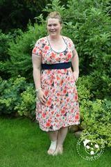 """eBook - """"Mutti-Kleid"""" von Annas Country - Kleid - Stillkleid - Nähen für Damen - Schwangerschaft - Stillen - Polyester-Jersey """"Sunseeker"""" - Slinky - Badelycra - Glückpunkt."""