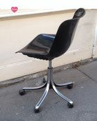 "Chaise de bureau par Osvaldo Borsani, modèle ""Modus"". Editeur : Tecno"