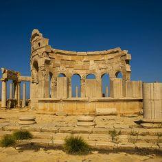 Market place, Leptis Magna, Libya