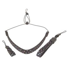 Introducing OPTECH USA 3400241 Compact Strap 3 Piece Set for Compact Cameras Includes Neck Strap Wrist Strap and Finger Strap  Neoprene  Trio Dots. Great Product and follow us to get more updates!