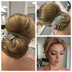 Bridal look of yesterday, hair by me makeup by @styledbyhrush #artak_hairstylist