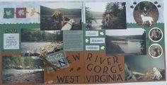 Hiking the New River Gorge, WV - Scrapbook.com