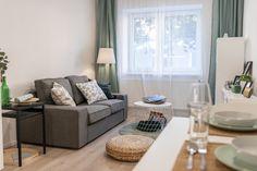 Rekonstrukce bytu v Brně na ulici Ctiradova. Inspirace pro vybavení a dekoraci obývacího pokoje.  #homedesign #livingroom #decoration #homedecoration