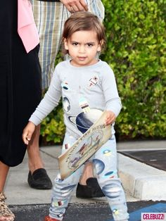 Even in his PJs little Mason Disick looks stylish!