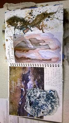 Natalie Cartner DHSFG Textiles Sketchbook, Gcse Art Sketchbook, Sketchbooks, Composition Techniques, High School Girls, Text Style, Durham, Deep Blue, Textile Art
