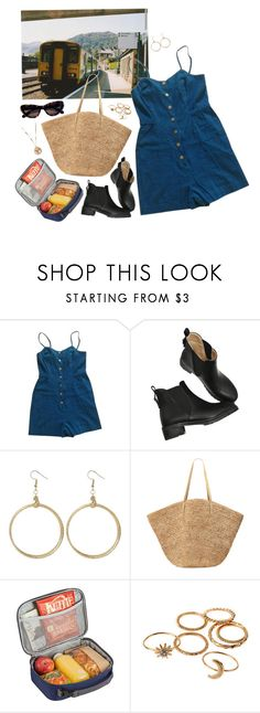 """""""#38G Train"""" by lsaroskyl ❤ liked on Polyvore featuring Urban Outfitters, Flora Bella, High Sierra, Tom Ford and Alkemie"""