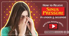 Are you dealing with sinus pressure and headaches? I have an amazing video for you on what I do to relieve sinus pressure pretty much instantly.  For the past ...