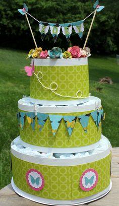 Paper Birthday Cake!!!!