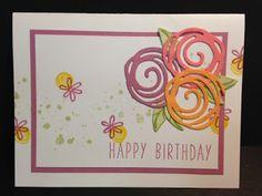 My Creative Corner!: A Swirly Bird Birthday Card