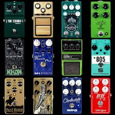 1211 Best All The Pedals images in 2019 | Guitar, Guitar rig