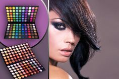 I just bought Two 120pc Eyeshadow Palettes (now £6.99) via @wowcher