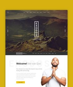 Exodos is a modern looking WordPress theme built to improve the Church Websites across the globe. It can be used by any religion website. It comes with donations, events, sermons, pastors and many other niche blocks. Wordpress Theme, Globe, Religion, Things To Come, Events, Website, Modern, Design, Pastor