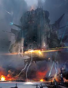 Star Wars - World Devastator by Stephan Martiniere
