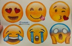 Emojis' drawing! by Okay? Okay. | We Heart It