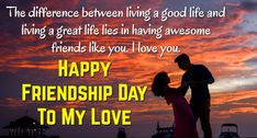 Friendship Day Love Status Kinship Day WhatsApp Messages and Status Kinship is a standout amongst Happy Friendship Day Picture, Friendship Day Pictures, Friendship Day Greetings, Friendship Thoughts, Friendship Day Quotes, Best Friendship, Finding New Friends, Real Friends, Lines For Best Friend
