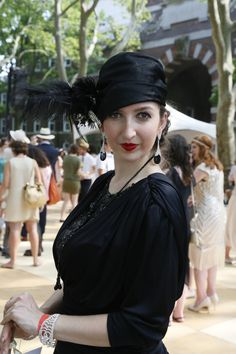 On the grounds of the 11th annual Jazz Age Lawn Party in Governors Island Jazz Age Lawn Party, Fashion News, Fashion Show, Gatsby, Island, How To Wear, Style, Events, Weddings