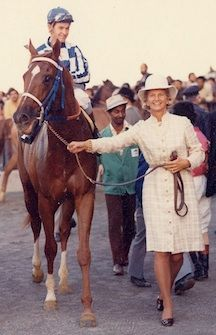 Secretariat...one of the greatest horses to ever live. Did u know...his heart was twice the size of a normal horse's. Incredible.