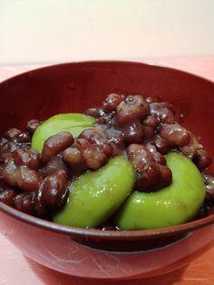京都丹波産の小豆でつくる抹茶白玉ぜんざい|きちんとレシピ|フードソムリエ