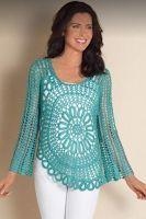 Sweet Nothings Crochet Spotted at Spotlight - 2, free crochet ladies top pattern, free crochet motif pattern
