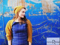 Løvlun lue og bolero Knitting, Inspiration, Design, Scale Model, Biblical Inspiration, Tricot, Breien, Weaving, Stricken