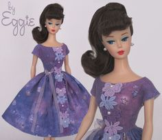 Twilight Reverie - Vintage Reproduction Barbie Doll Dress Clothes Fashions #Fanfare