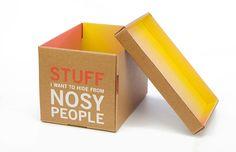 Stuff I Want To Hide Storage Box