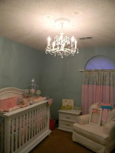 The finished nursery......