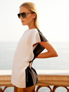 Vendela Johanssen by Dennison Bertram in Gucci for <em>Marie Claire Czech</em>