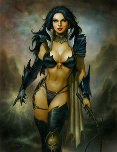 Dark Queen, an art print by Paul Abrams