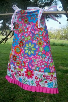 Original Patterned Handmade Infant Girls Dress by dawneedooville, Available in Szs 3mos thru 6x, $17.99-$23.99
