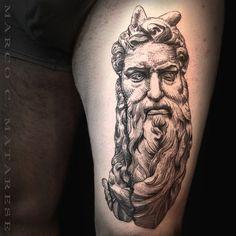 Scultura tatuaggio milano Marco C. Matarese