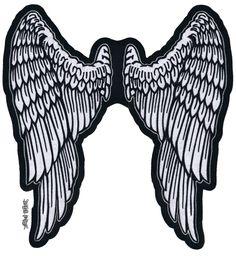 Angel Wings Patch   Rebel Highway
