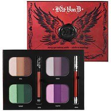 Kat Von D V Starry Eyes Makeup Palette Exclusive Limited Edition For Sephora $230.00 Value $69.95