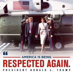 President & First Lady Melania Trump Donald Trump, Patriotic Pictures, Trump Is My President, Greatest Presidents, Trump Train, First Lady Melania Trump, Conservative Politics, Great Leaders, American Pride