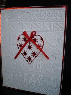 Memory Box die- Sophia Heart 98253