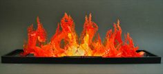 Pictures: Lego Sculpture Looking Like Real Fire | Amazing, Funny, Beautiful, Nature, Travel and much more...