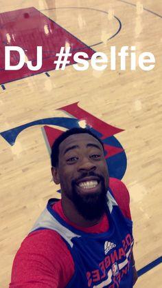 DeAndre Jordan #selfie