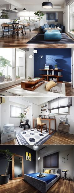 コスモスイニシア イニシア板橋浮間公園 モデルルーム | For Contract | IDÉE|イデー Living Room Modern, Interior Design Living Room, Living Room Designs, Living Room Decor, Interior Decorating, Bedroom Decor, Apartment Design, Room Colors, Interior Architecture