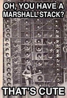 """Jerry Garcia performs in front the Grateful Dead's famous """"Wall of Sound"""" Vinyl Collection, Dead Pictures, Music Pictures, Wall Of Sound, Dead And Company, The Jam Band, Forever Grateful, Humor Grafico, History Photos"""