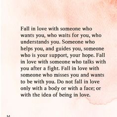 Fall in love with someone who knows you like you've never been known, loves you like you've never been loved, who would do anything for you Cool Words, Wise Words, Bien Dit, Cute Quotes, Freaky Quotes, Poetry Quotes, Relationship Quotes, Relationships, Beautiful Words