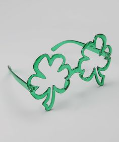 Some say Irish eyes are smiling, but we say they'll be giggling when they see these shamrock-shaped novelty glasses. They fit adults and children, and there are no lenses to worry about. Irish Eyes Are Smiling, Hello Kitty Collection, Sanrio Characters, St Patricks Day, Eyeglasses, Lens, Take That, Invitations, Green