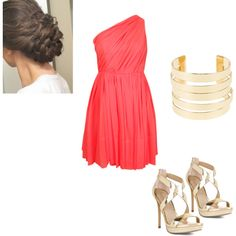 """8th grade dinner dance"" by clarebear-1 on Polyvore"
