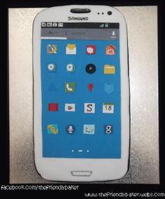 Samsung Galaxy S3 Cake