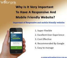 Mobile Friendly Website, Phone, Telephone, Phones
