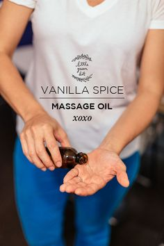 This homemade vanilla spice massage oil recipe makes a wonderful treat when tucked inside a stocking as DIY stocking stuffer gift!