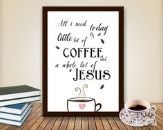 ukra printables   Quote Bible Verse wall art, Printable Scripture Print wall decor,All I ...