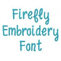 Firefly Embroidery Font (Designs by Juju) Jan. 2017